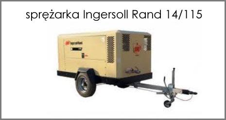 Sprężarka Ingersoll Rand 14/115 - do wykonywania odwiertów pod studnie głębinowe